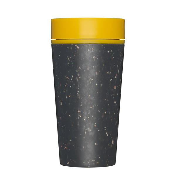 rCup 340 ml black yellow